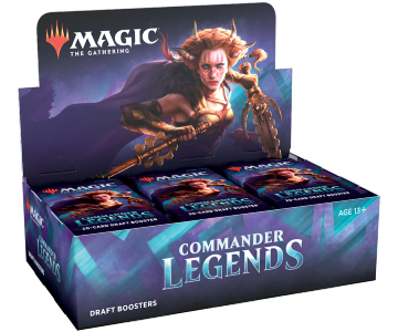 MTG: Commander Legends Draft Booster Box (24)