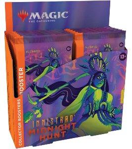 MTG: Innistrad Midnight Hunt Collector Booster Display (12)
