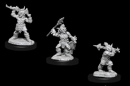 Boss Goblin and Goblins D&D Nolzur's Miniatures