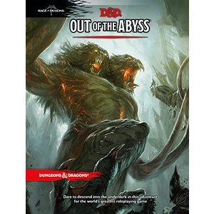 D&D 5E: Out of the Abyss book