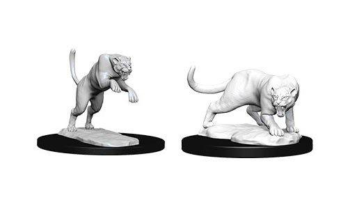 D&D Minis: Panther & Leopard