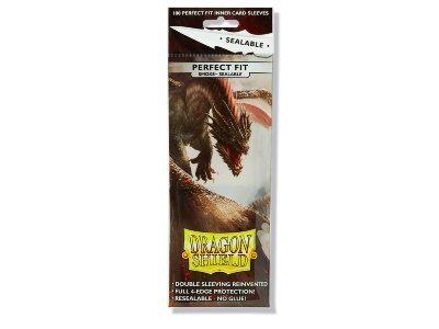 Dragon Shield: Perfect Fit Sealable - Smoke (100)