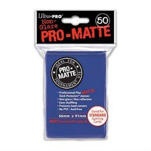 Ultra Pro DP: Pro-Matte-Blue (50)