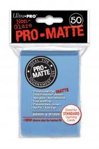 Ultra Pro DP: Pro-Matte-Light Blue (50)
