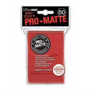 Ultra Pro DP: Pro-Matte-Red (50)