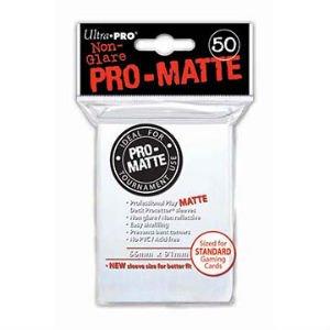 Ultra Pro DP: Pro-Matte-White (50)