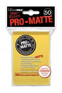 Ultra Pro DP: Pro-Matte-Yellow (50)