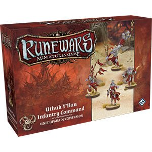 Runewars: Uthuk Y'llan Infantry Command Unit Upgrade Expansion