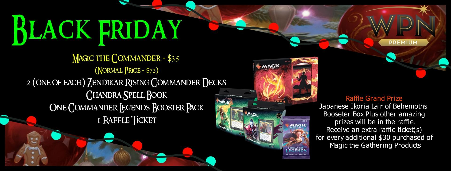 Magic Commander Bundle
