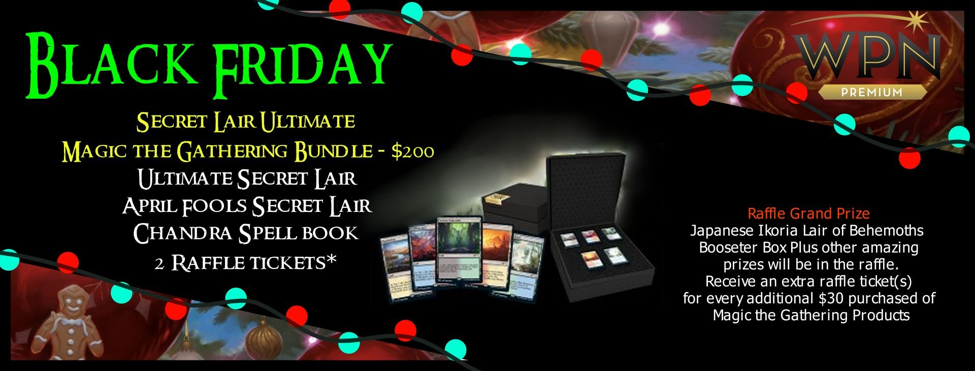 Secret Lair Ultimate Magic: The Gathering Bundle