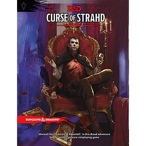 D&D 5E: Curse of Strahd book