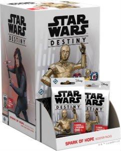 Star Wars Destiny: Spark of Hope Booster Pack Display (36)
