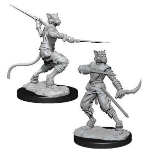 D&D Minis: Tabaxi Male Rogue
