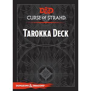 D&D Spellbook: Curse of Strahd Tarokka Deck