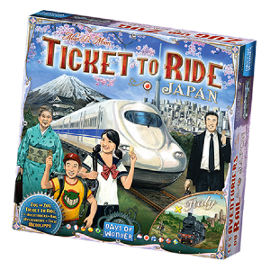 Ticket to Ride: Japan and Italy