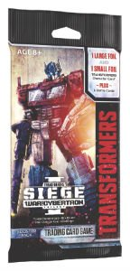 Transformers TCG: War for Cybertron Siege 1 Booster