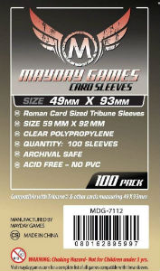 Mayday Sleeves: 7112 Tribune Card Sleeves (100)