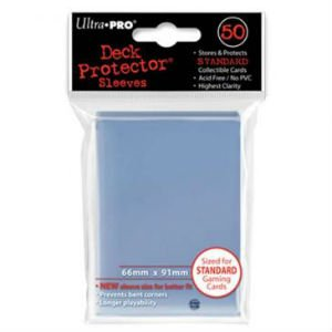 Ultra Pro DP: Solid Clear Sleeves (50)