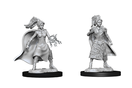 D&D Minis: Human Female Sorcerer