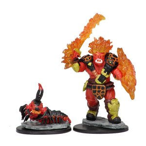 Wardlings: Fire Orc & Fire Centipede