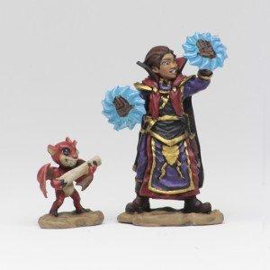 Wardlings: Boy Wizard & Imp