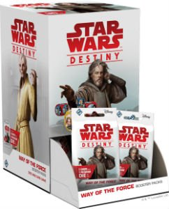 Star Wars Destiny: Way of the Force Booster Pack Display (36)