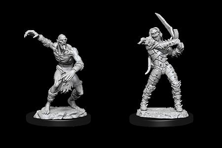 D&D Minis: Wight & Ghast