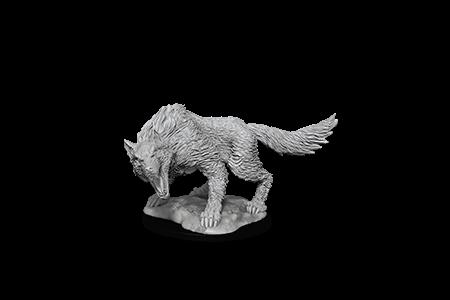 D&D Minis: Winter Wolf