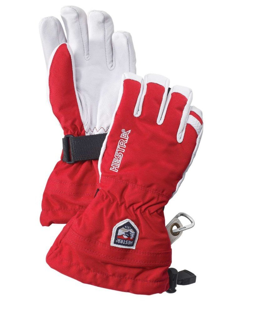 HESTRA KID'S ARMY LEATHER HELI SKI JR GLOVE