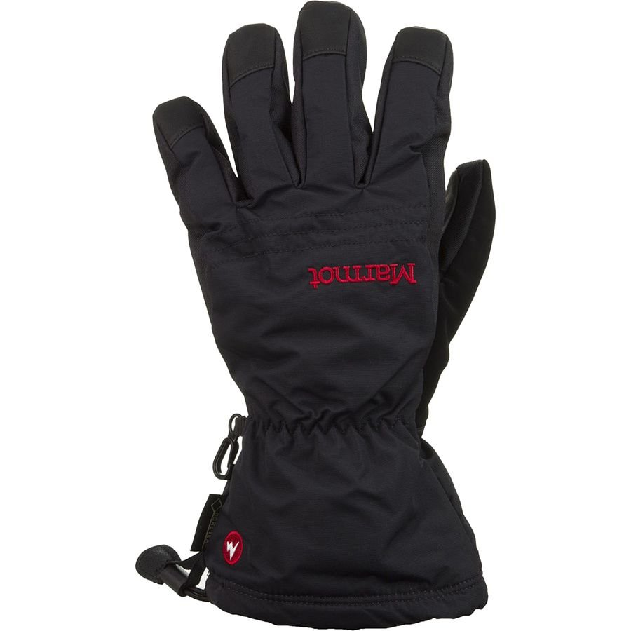 MARMOT CHUTE GLOVE BLACK/RED