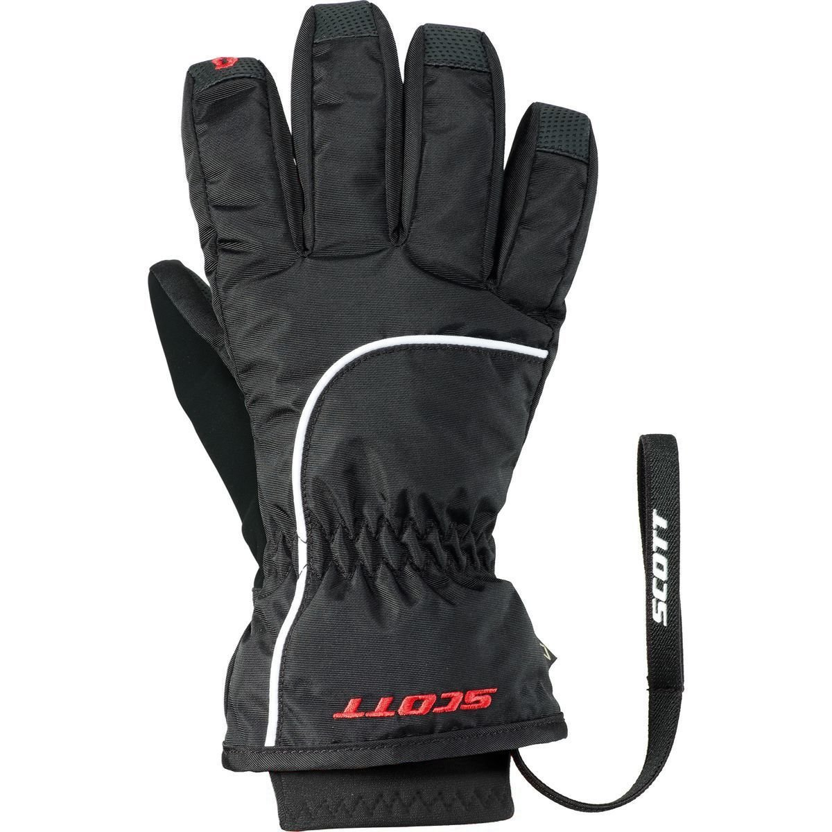 SCOTT SCO GLOVE JR ULTIMATE PREMIUM BLACK
