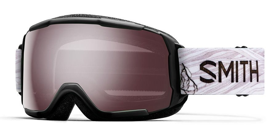 SMITH GROM YOUTH FIT MEDIUM GOGGLE - IGNITOR MIRROR