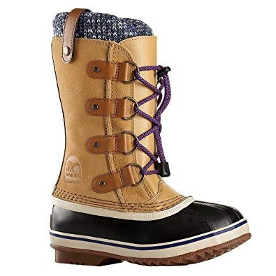 SOREL JOAN OF ARTIC KNIT YOUTH AFTER SKI BOOTS