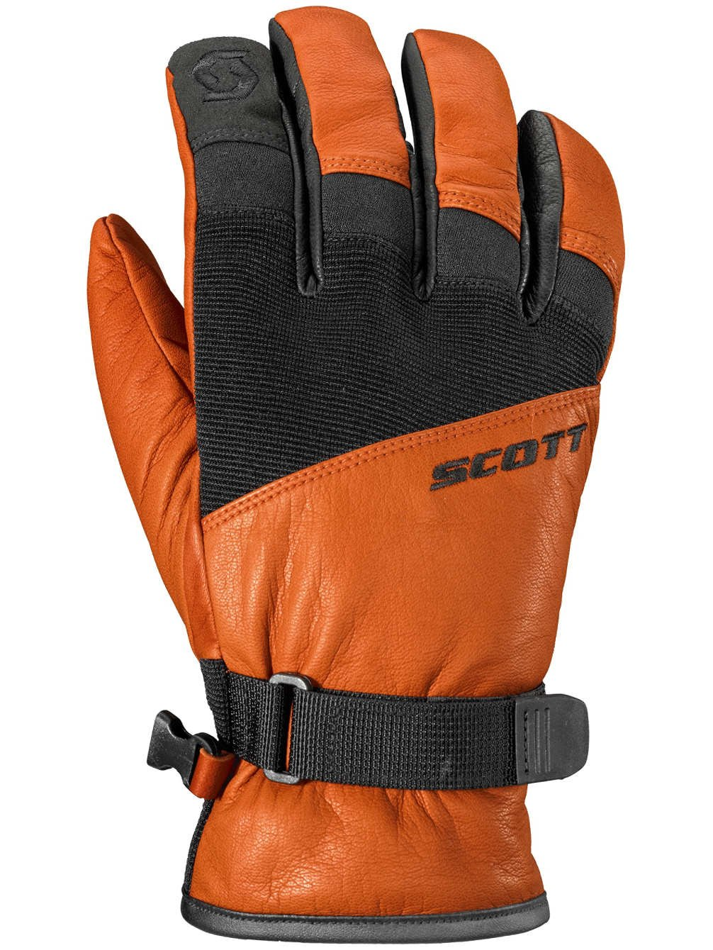SCOTT GLOVE VERTIC SPRING ORANGE