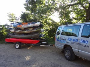 Kayak, Canoe, SUP Shuttle & Outfitting Service On the Mississippi River