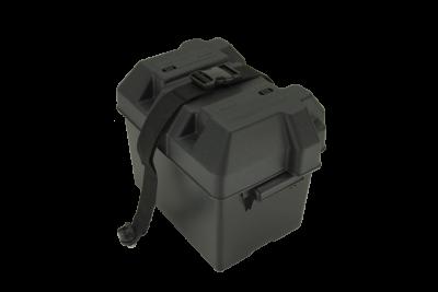 Battery Box w/ Strap Marine Deep Cycle