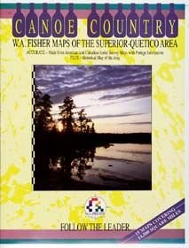 Book Canoe Country Superior Quetico Maps B1