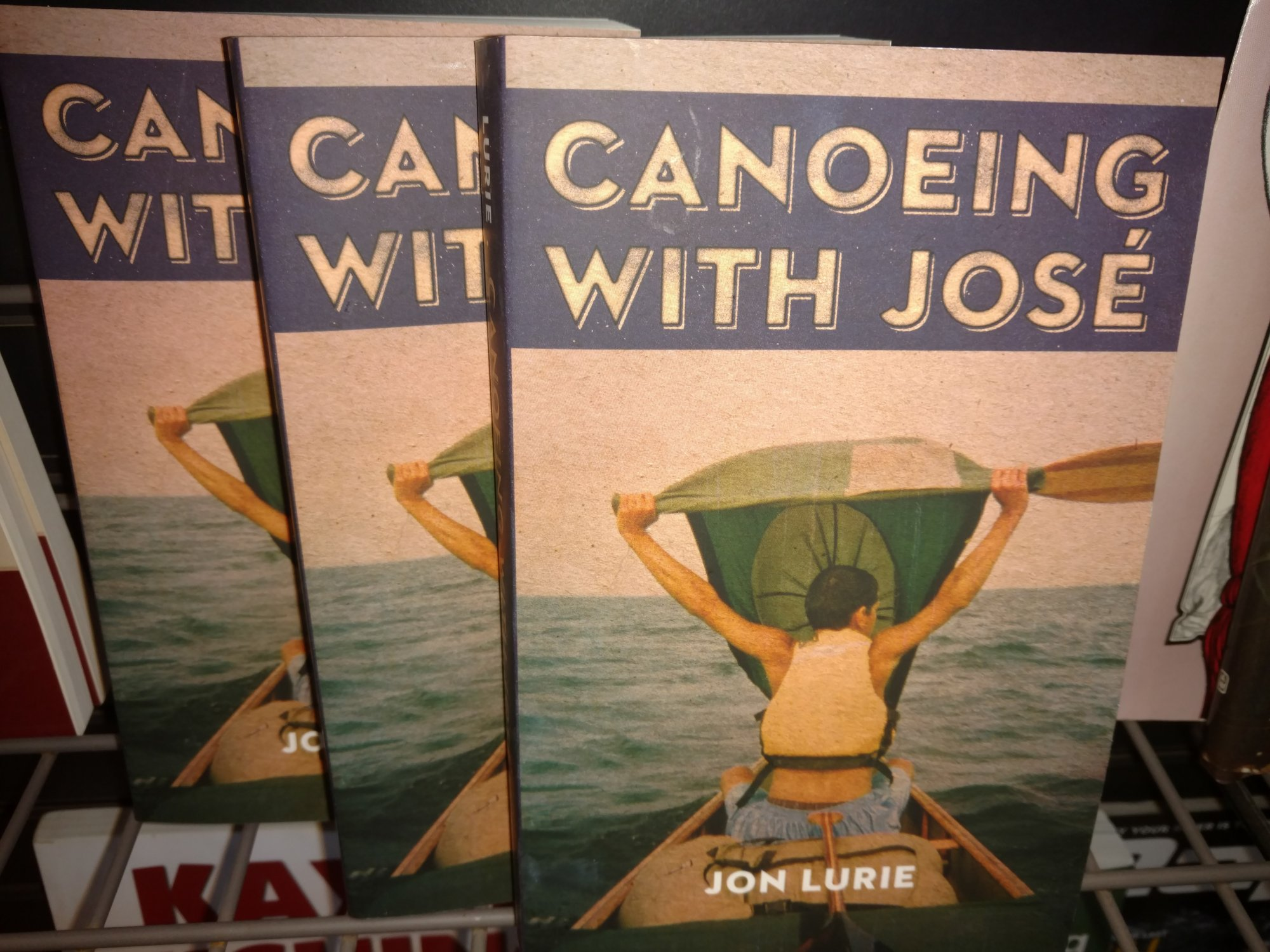 Book Canoeing with Jose'
