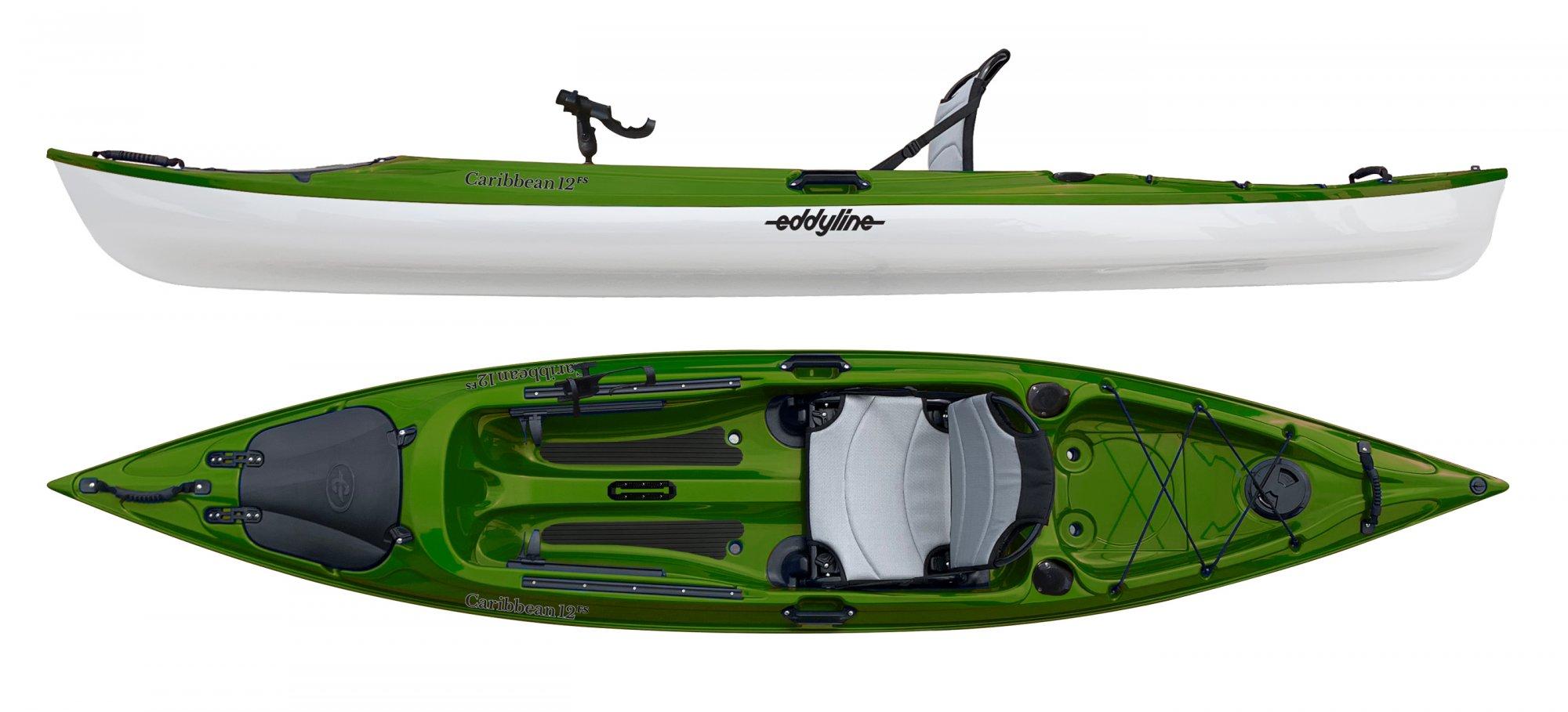 Eddyline Caribbean 12FS Angler - ORDER NEW