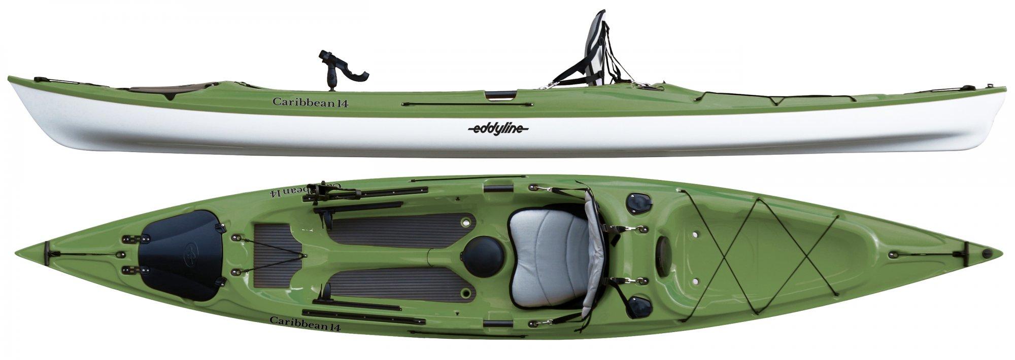 Eddyline Caribbean 14 Angler ORDER NEW