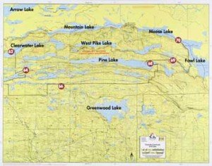 Map F14 Clearwater Greenwood Fowl
