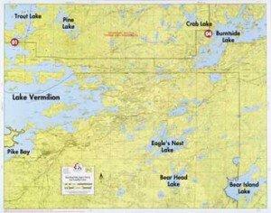 Map F2 Bear Head Eagle Lk