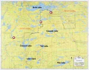 Map F6 Brule & Pike Lk
