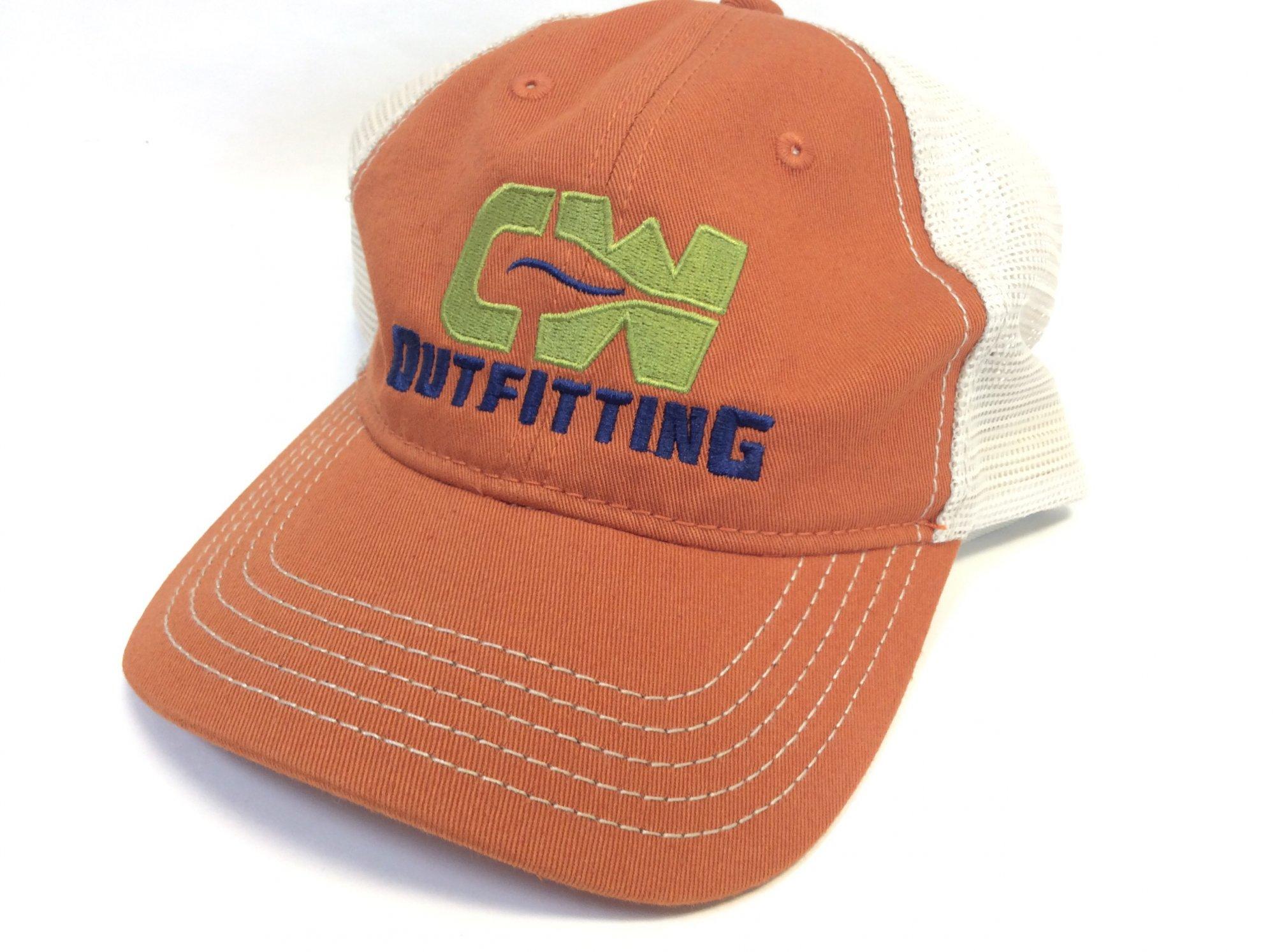 Cap CWOC orange/mesh
