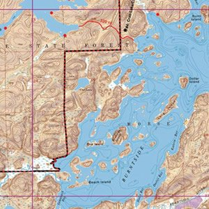 Map 16 Burntside Lake