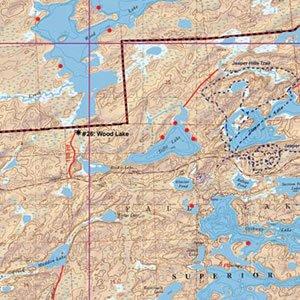 Map 17 Fall Lake