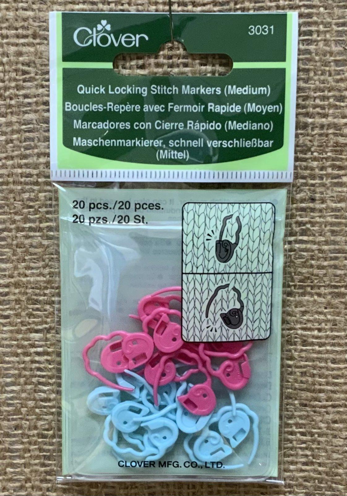 Clover Quick Locking Stitch Markers