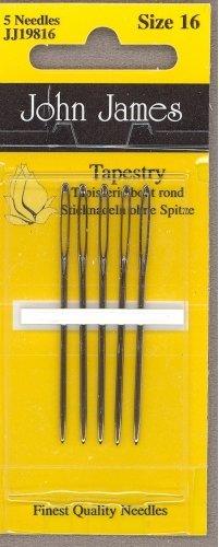 John James Tapestry Needles Size 16