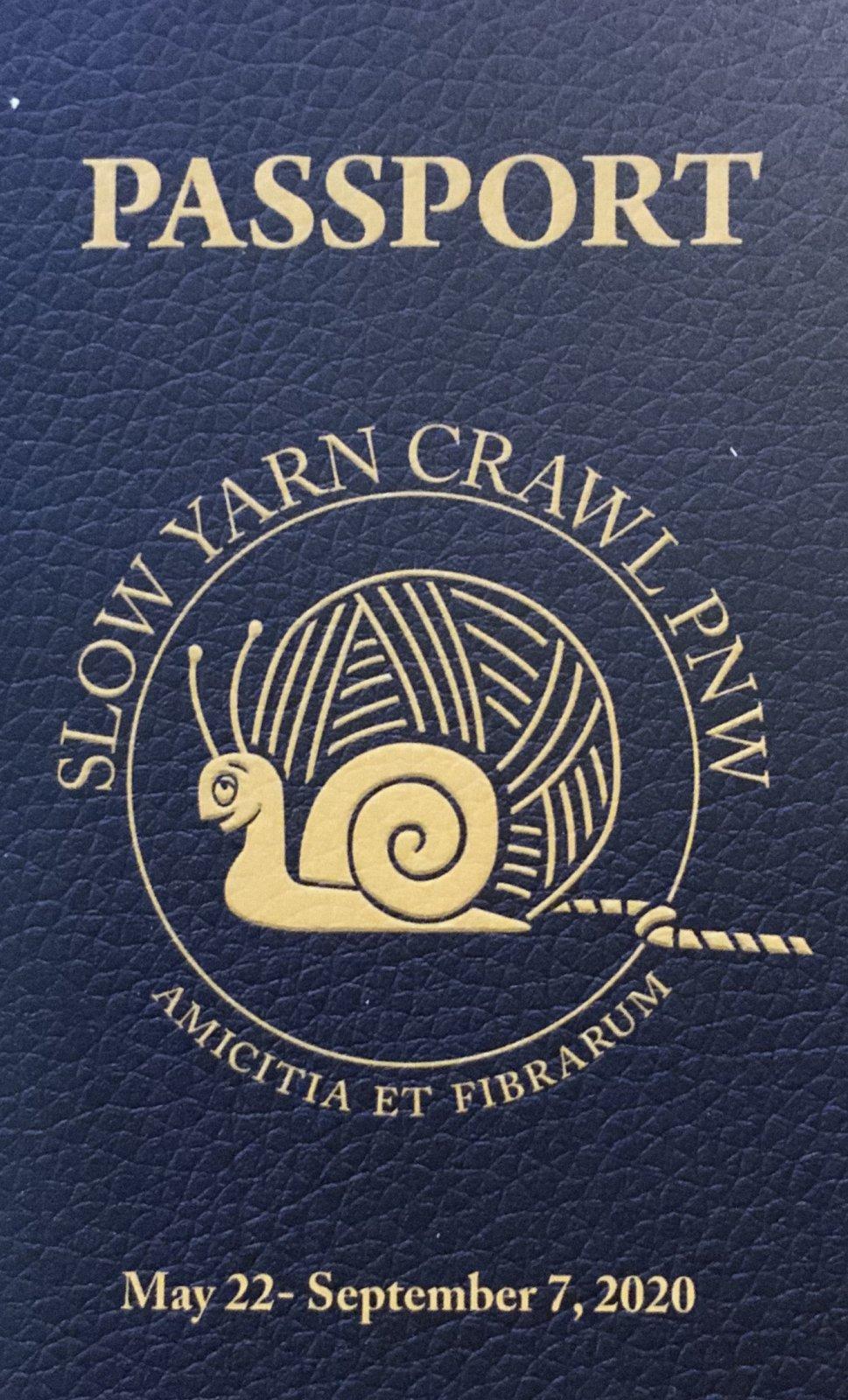Slow Yarn Crawl PNW Passport