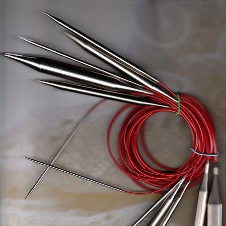 ChiaoGoo Red 12 Circular Needle
